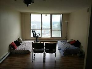 One room available in a two bedroom apartment from Sept 1