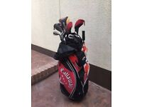 Callaway Golf Bag with Clubs and Accessories