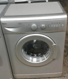 O147 silver beko 5kg 1400spin A+A rated washing machine comes with warranty can be delivered