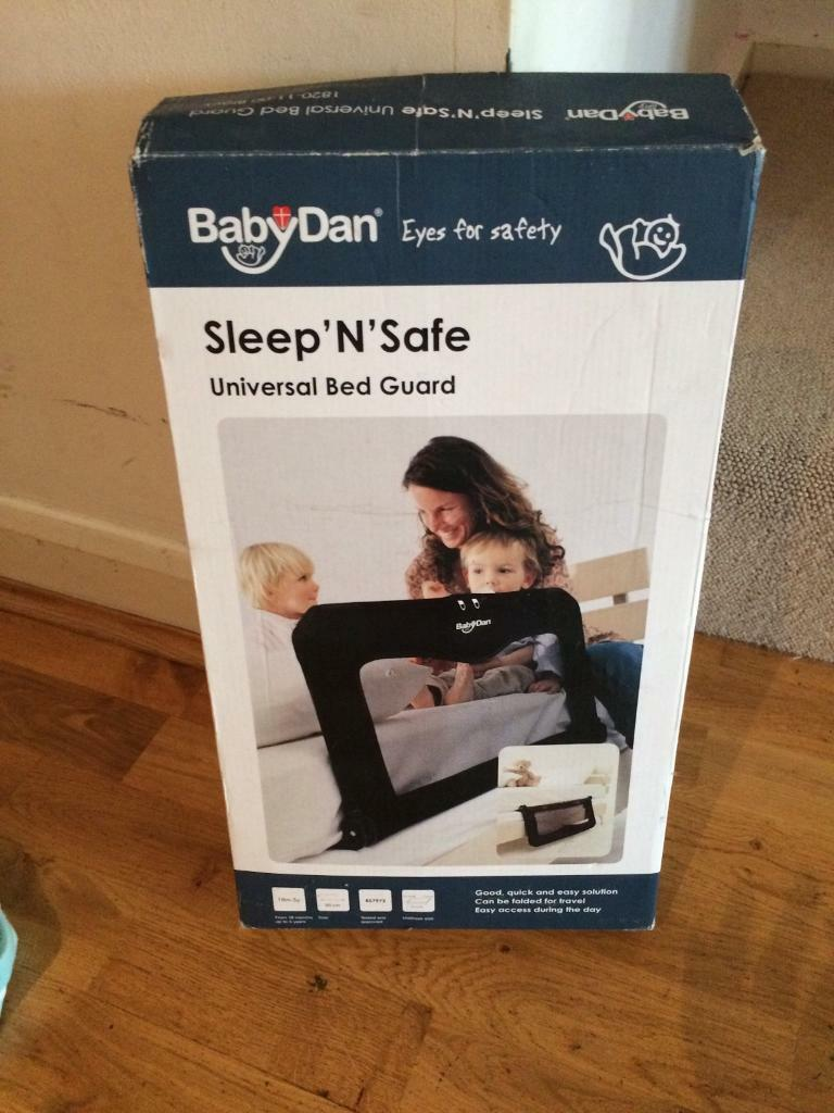 Baby Dan Sleep And Safe Folding Travel Bed Guard