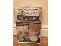 Air wrap mesh - cot bumper - 2 sides
