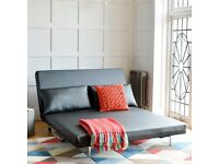 Dwell Faux Leather Sofabed