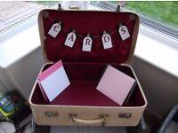 Vintage Shabby Chic Wedding Suitcases - Great Wedding Ideas