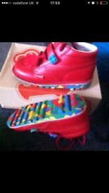 Red LEGO kickers