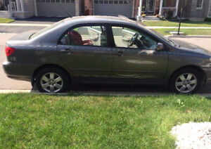 2005 Toyota Corolla LE Sedan Certified and ET included.  Low Klm