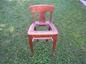 Small Antique Wooden Chair - Revised Price!!!!