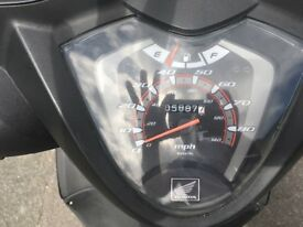 HONDA VISION 110 GOOD CONDITION VERY LOW MILIAGE !!