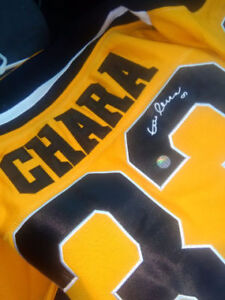 Zdeno Chara Autographed Jersey $250 OBO or Trade