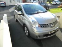 Nissan Note 1.4 Acenta, Low Miles, Service History, High Spec, Spacious Family Car