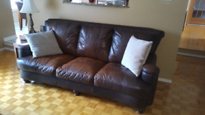 Sofa / Couch (Leather) for sale.
