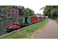 61ft traditional tug style narrowboat
