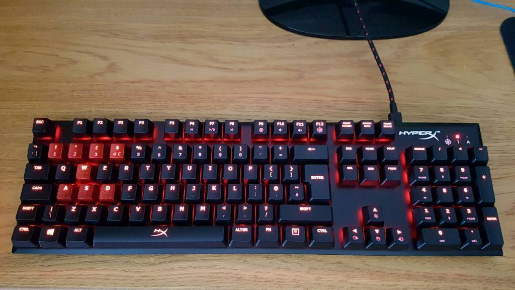 HyperX Alloy FPS Cherry MX Blue Mechanical Keyboard