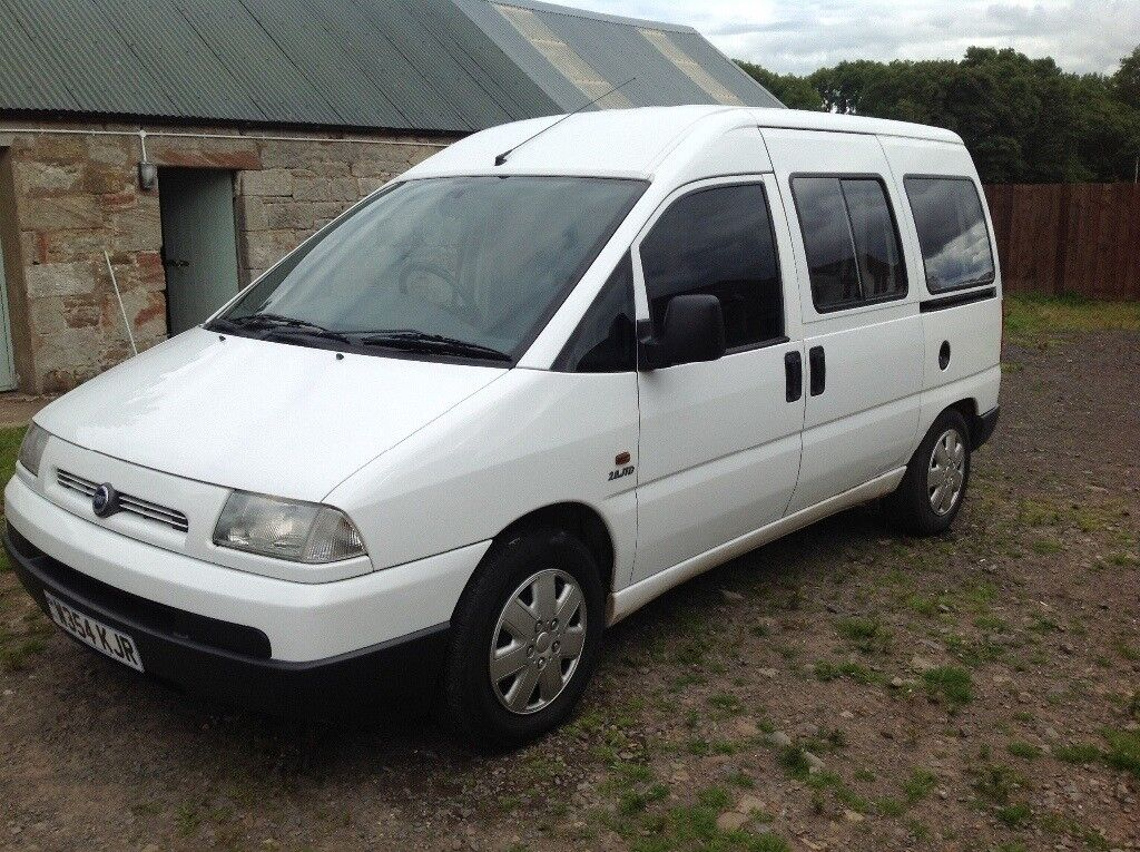 fiat scudo 20 hdi el jtd swb crew van in gorebridge. Black Bedroom Furniture Sets. Home Design Ideas