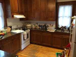 3br 6.5 Spacious Apt facing Parc Garneau in Ville Emard Sep 1