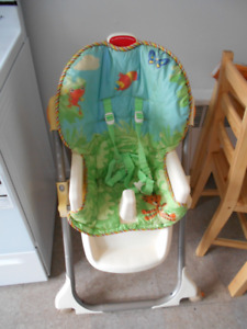 High chair-chaise haute