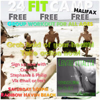 FREE Beach Workout 24 Fit Camp
