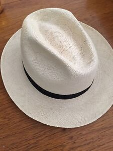 Biltmore Straw Hat G.P. excello size 60/7 1/2