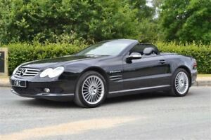 2006 Mercedes-Benz SL-Class SL55 AMG -- 500 H.P MONSTER -- BLACK