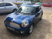 2007 MINI ONE 1.4 BLUE 2 OWNERS HPI CLEAR 85 000 MILES