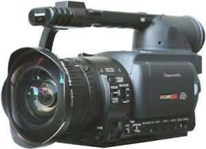 Panasonic HVX setup for sale! 2 batteries, charger, 2x 32gb P2