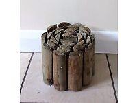 15 log roll border edgings