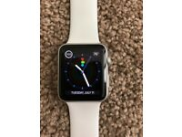 Apple watch series 1 (42mm) - white (small band)