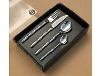 24 pcs Forged Steel cutlery set - Contemporary design