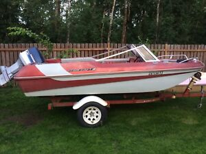 Price drop !!  16.5 boat with70hp evinrude