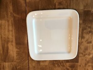 White Bowring set of small plates, dessert or salad plates