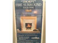 Thorpe Fire Surround & Hearth