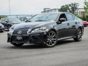 2013 Lexus GS 350 AWD, F Sport, Navigation, Heated Steering