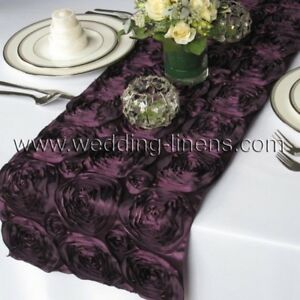 Chemin de table, napkins, boucles de chaise