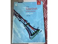 Clarinet exam pieces grade 4 2008-2013