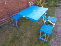 4 Seater Folding Picnic Table - BRAND NEW