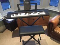 Yamaha Piaggero NP11 Keyboard - Slim, light and compact, and is perfect for both beginners