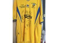 Havant and waterloovile fa cup vs Liverpool shirt player worn