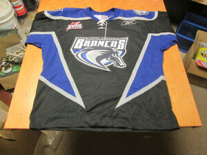 SWIFT CURRENT BRONCOS vintage Jersey AUTHENTIC WHL