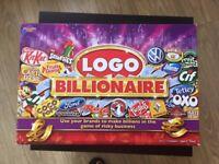 Logo Billionaire Board Game for Sale!