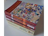 Longman Anthology of British Literature - all 4 volumes