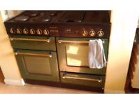 Lovely farmhouse Range Cooker, Leisure Rangemaster 110 cm Electric appliance