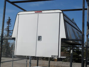 Used/Pre-owned Superduty 8' Long Box A.R.E. Truck Service Canopy