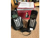 EuroTel Twin Digital Cordless Telephone and Answering Machine