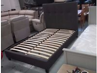 Ex Display Julian Bowen Sorrento High Headboard Double Bed Can Deliver View Collect Kirkby NG177