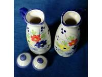 Floral Little Milk Jugs