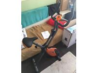 Star Shaper Folding Exercise Bike - New