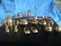 Collection/lot job of vintage brass variety