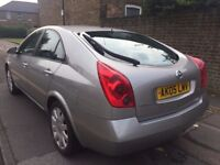 2005 NISSAN PRIMERA SX 1,8 PETROL ( 1 OWNER FROM NEW ) FSH MOT JANUARY