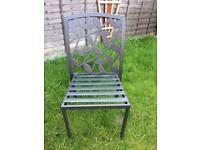 Metal framed garden chair Reduced!