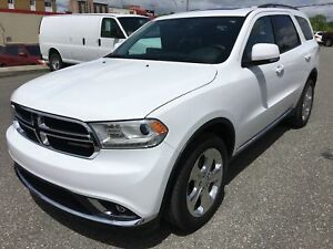 Dodge Durango Limited Toit Tv/dvd 2015