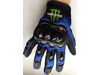Monster Motocross Gloves FREE UK POSTAGE